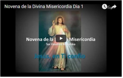 Novena de la Divina Misericordia Dia 1