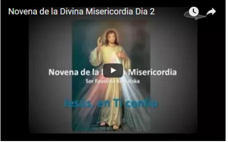 Novena de la Divina Misericordia Dia 2