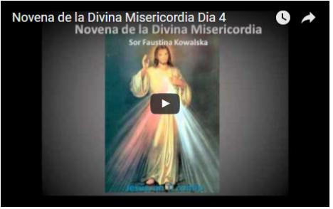 Novena de la Divina Misericordia Dia 4
