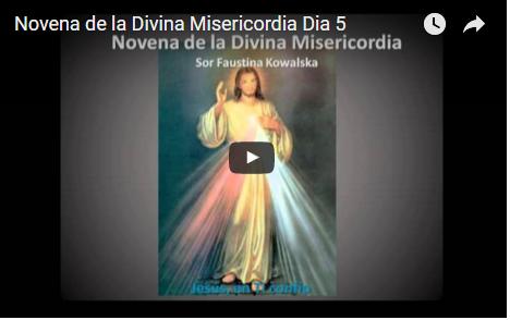 Novena de la Divina Misericordia Dia 5