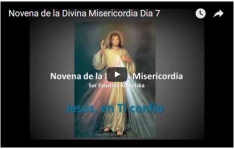 Novena de la Divina Misericordia Dia 7