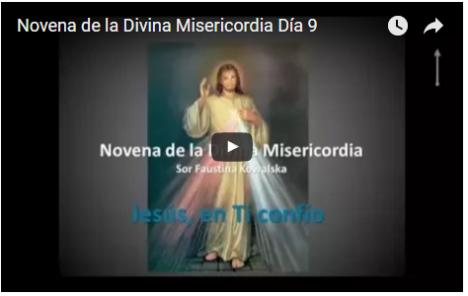 Novena de la Divina Misericordia Dia 9